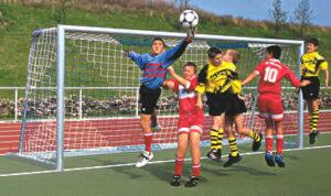 Jalgpallivärava võrk 5,15x2,05x1-1 3mm-5mm