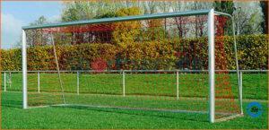 Jalgpallivärav 7,32x2,44m, vabaltseisvad, nurga adapteriga