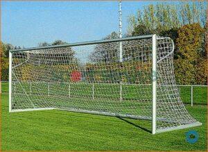 Jalgpallivärav 7,32x2,44m, vabaltseisvad, nurga adapteriga, U-tugi