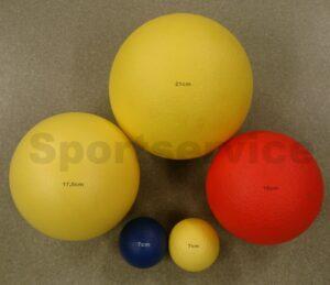 PVC kattega vahtpallid