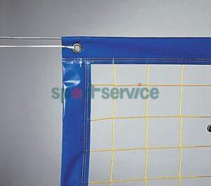 Beach volleyball nets and antennas