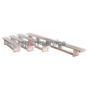 Gymnastic benches/ balance beams