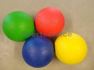 Jalgpalli paneelidega PU vahust pall