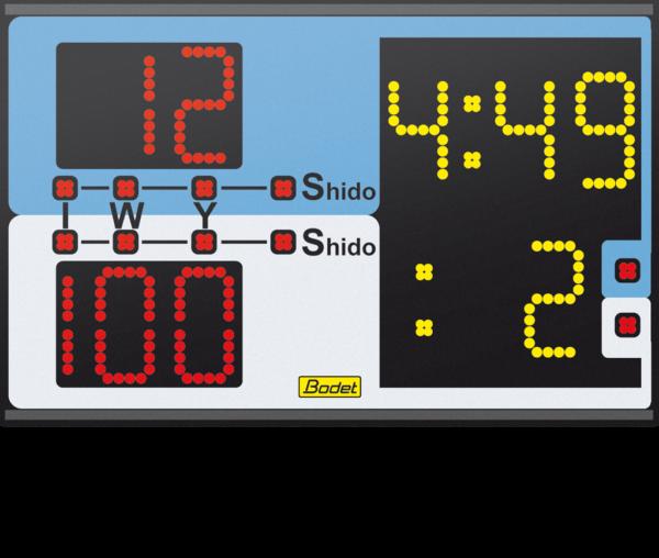 Combat Sport Scoreboard Judo