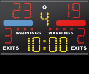 Combat Sport Scoreboard Kick Boxing