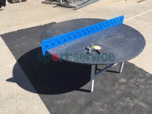 Ümargune lauatennise laud