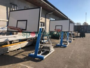 Portatiivne korvpallikonstruktsioon (125cm eenduvusega)